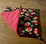 Hängematte klein, Erdbeere / Rot