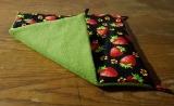 Hängematte klein, Erdbeere /Grün