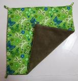 Hängematte klein Schmetterlinge grün / grün