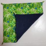 Hängematte klein Schmetterlinge grün / blau