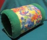 Kuschelrolle Blumen/Grün